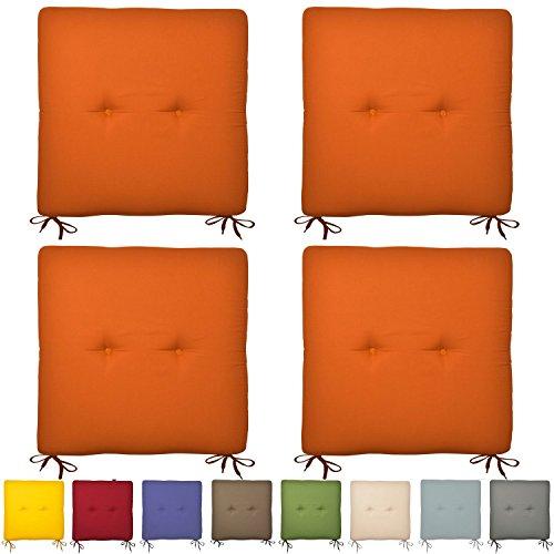 4er-Set-Sitzkissen-Soraya-Stuhlkissen-40x40-cm-in-Orange-Bunte-Kissen-fr-Stuhl-und-Boden-in-vielen-Farben
