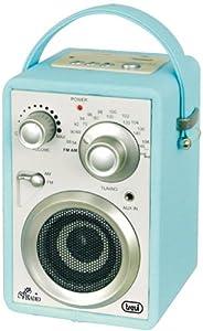 Trevi MRA-784 Portable Radio Speaker USB SD MP3 AUX - Turquoise
