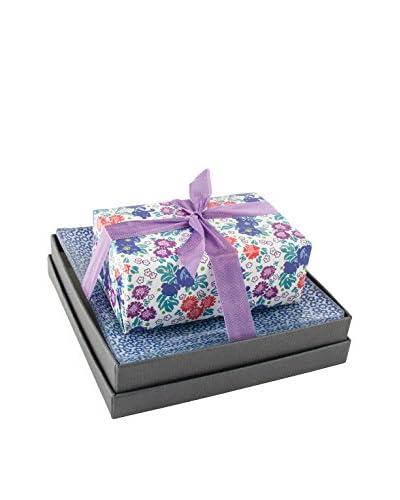 Mudlark Bloom Soap Bar & Dish with Gift Box, Multi