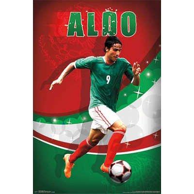 (22x34) Aldo de Nigris Brillo Soccer Sports Poster
