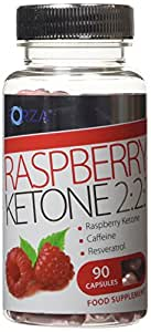 Forza Raspberry Ketone 2:2:1 - Maximum Strength Diet Pills with Pure Raspberry Ketones - Pot of 90 Capsules