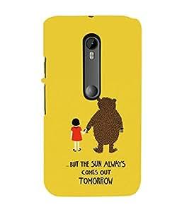 Ebby Premium Printed Mobile Mobile Back Case Cover With Full protection For Motorola Moto G3 (Designer Case)
