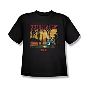 Scarface A Dog Day Youth T-Shirt XL