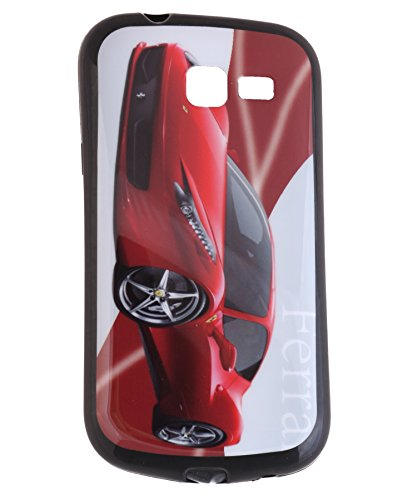 iCandy Matte Finish Soft Rubber Printed Back Cover for Samsung Galaxy Trend GT S7392 - Ferrari  available at amazon for Rs.115