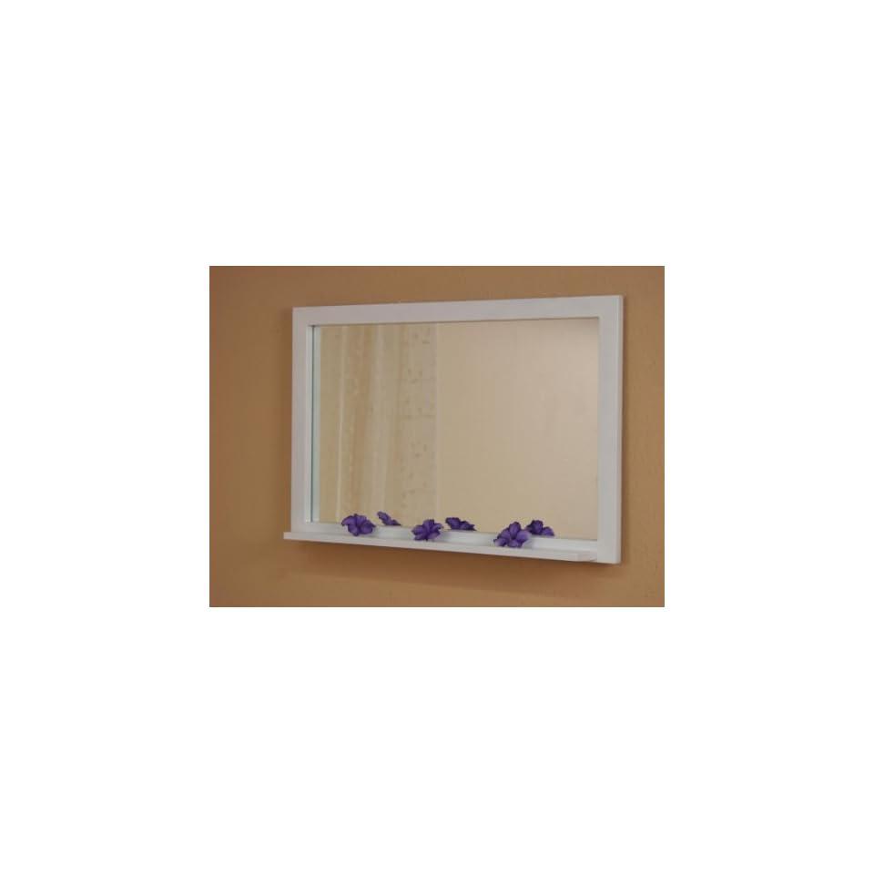 wandspiegel aus holz mit kerzenhalter barock spiegel. Black Bedroom Furniture Sets. Home Design Ideas