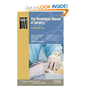The Washington Manual of Surgery 6th edition CHM