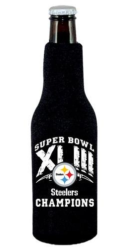 Pittsburgh Steelers Super Bowl XLIII Champions Bottle Koozie by NortheastSportsMerchandise