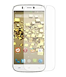 Micromax Canvas HD Plus A190 Tempered Glass Screen Protector with OTG Cable (TEMPERED GLASS + OTG CABLE) COMBO by DRaX®