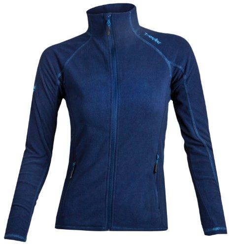 Twentyfour Damen Fleece Jacke Elbrus Leichte Micro 16 Blau - Dark Marine
