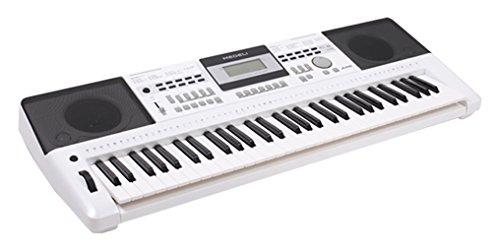 Medeli A100, Tastiera elettronica, colore: grigio