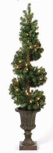 Stoneorange496 Buy Now Lighted Spiral Topiary 36