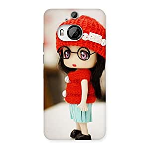 Enticing Cute Little Angel Multicolor Back Case Cover for HTC One M9 Plus