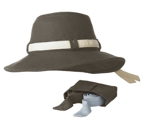 Tilley TH9 Ladies Hat (Medium, Mocha)