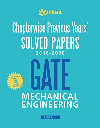 Chapterwise Previous Years' Solved Papers (2016-2000) GATE  Mechanical Engineering