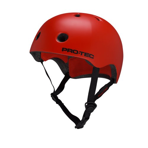 Pro-tec Street Lite Helmet, Blood Orange, Large