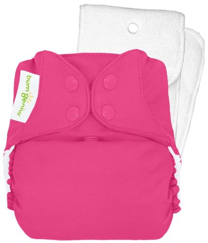 Bumgenius 4.0 Pocket Cloth Diaper - Snap - Countess - One Size front-834319