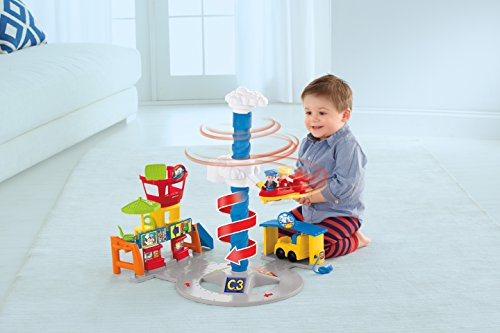 Fisher-Price Little People Spinnin' Sounds Airport JungleDealsBlog.com