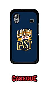 Caseque London At Last Back Shell Case Cover for Samsung Galaxy Ace