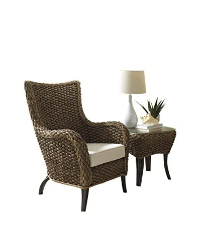 Panama Jack 2-Piece Lounge Chair Set With Cushions, Antique