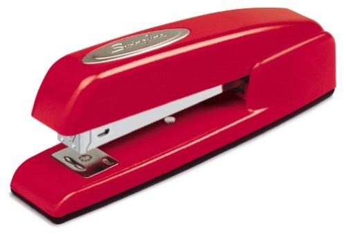 Swingline Stapler, 747, Business, Manual, Desktop, 20 Sheet Capacity, Rio Red (74736)