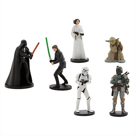 Star-Wars-Figure-Playset-Includes-Darth-Vader-Luke-Skywalker-Princess-Leia-Yoda-Boba-Fett-and-Stormtrooper