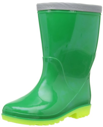 Toughees Unisex-Child Welly Boots 107233.77 Green/Lime 10 UK Child, 28 EU, Regular
