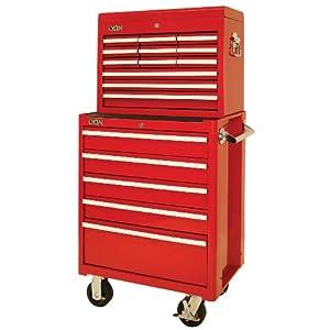 Lyon rr1487 5 drawer mechanic 39 s roller combination cabinet for 12 inch depth dresser