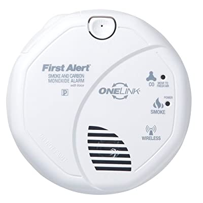 First Alert SC0501CN-3ST OneLink Enabled Smoke and Carbon Monoxide Alarm with Ph, from First Alert