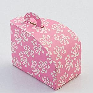 Flower Domed Wedding Cake Slice Boxes Kitchen Home