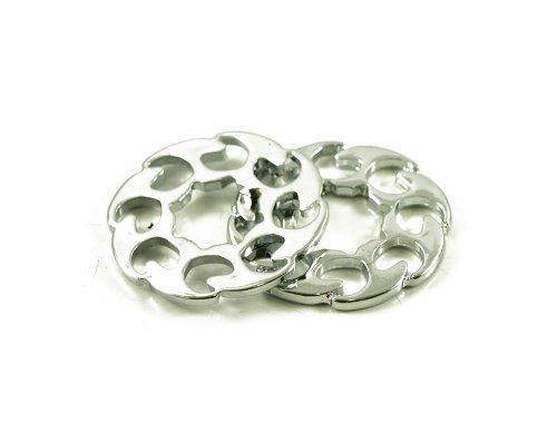Fire Wheel Trim Ring Chrome