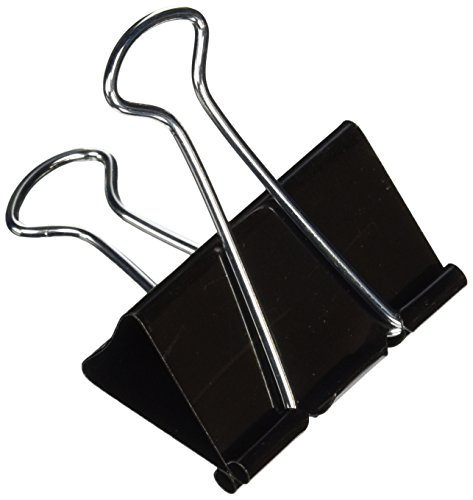 Office Impressions Binder Clips, Large Size, 2 Inches Wide