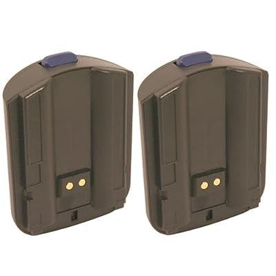 Hitech- 2 Batteries for Intermec CK30, CK31, AB1G, 318-020-001 Barcode Scanners