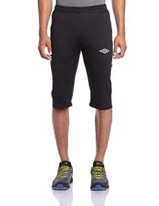 Umbro Nation Pantalon 3/4 homme Noir/Blanc FR : M (Taille Fabricant : M)