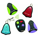 Click 'n Dig Model E4 Key Finder. 4 Receivers. Wireless RF Remote Item, Wallet Locator