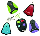 Click N Dig! Key Finder. 4 Receivers. Wireless RF Item Locator Remote, Wallet, Keyfinder. (Free Extra Batteries) New Model: E4