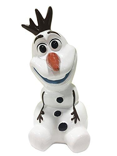 """Disney Frozen Olaf 6"""" Ceramic Coin Bank"""
