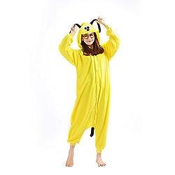 CASA Winter Warm Adult Onesie Pajamas Cosplay Halloween Costume Unisex One Piece