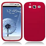 Soft Silicone Skin Case for Samsung Galaxy S3 i9300 (#Red#)