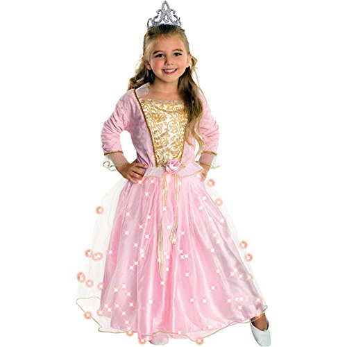 Rose Princess Light-Up Kids Costume