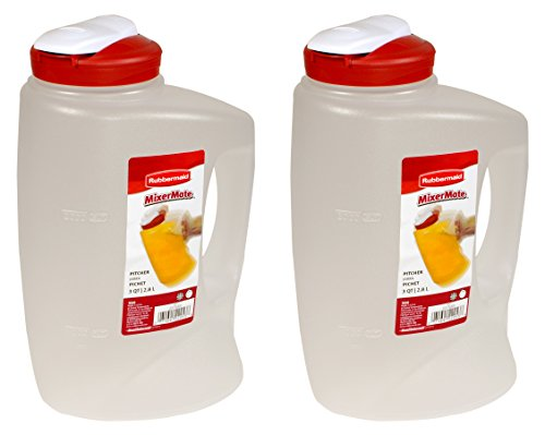 Rubbermaid 1776501 3-Qt. Seal N' Saver Pitcher/Bottle (Pack of 2) (Plastic Beverage Pitcher compare prices)