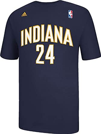 Paul George Indiana Pacers Adidas Youth Navy Game Time Player T-Shirt by adidas