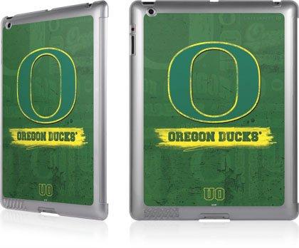 U Of Oregon - Oregon Distressed Logo Skin - Ipad 2Nd & 3Rd Gen - Lenu Case