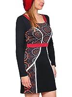 HHG Vestido (Negro / Rojo)
