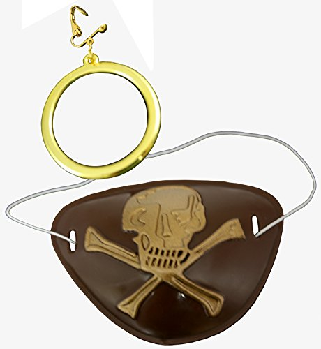 Amazoncouk: pirate eye patch