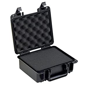 Seahorse SE-300F Waterproof Protective Hardcase with foam (Black)
