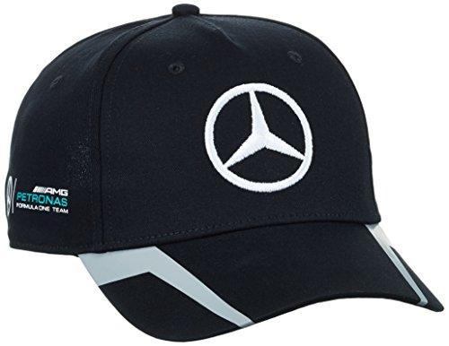 Mercedes amg petronas driver cap hamilton 2016 black for Mercedes benz amg hat