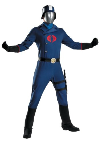 Disguise Unisex - Adult Deluxe Cobra Commander
