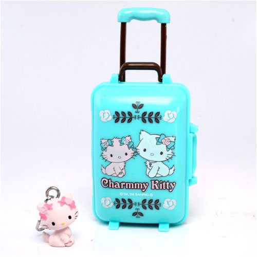 Charmmy Kitty Mini Themed Luggage Storage Case – Green