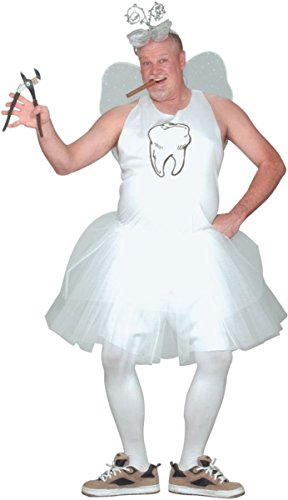 [Morris Costumes Men's TOOTH FAIRY, PLUS SIZE] (Tooth Fairy Costumes)