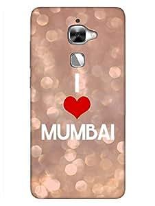 I Love Mumbai - Mumbai Meri Jaan - Hard Back Case Cover for LeEco Le2 - Superior Matte Finish - HD Printed Cases and Covers